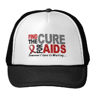 Find The Cure 1 HIV / AIDS T-Shirts & Gifts Trucker Hat