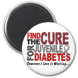 Find The Cure 1 JUVENILE DIABETES T-Shirts Gifts Refrigerator Magnets
