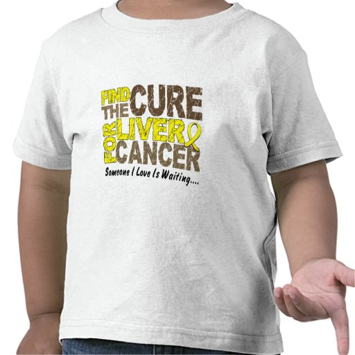 Find The Cure 1 LIVER CANCER T-Shirts & Apparel