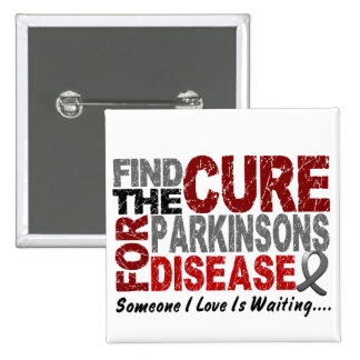 Find The Cure 1 PARKINSON'S DISEASE T-Shirts Pins