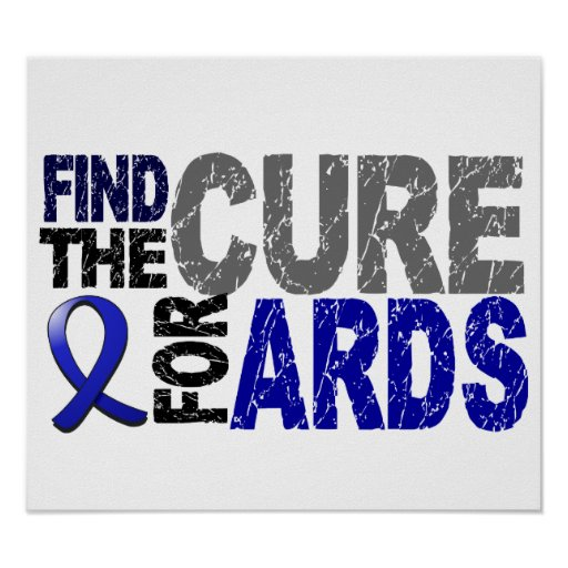 Find The Cure ARDS Poster
