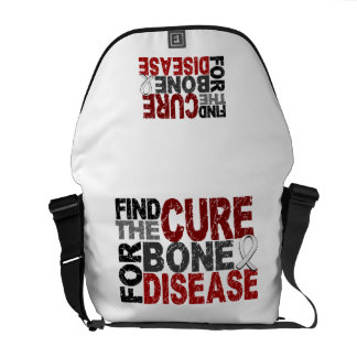 Find The Cure For Bone Disease Courier Bag