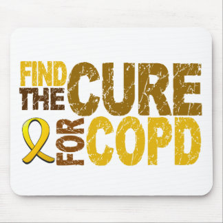Find The Cure For COPD Mouse Pads
