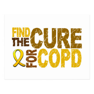 Find The Cure For COPD Postcard