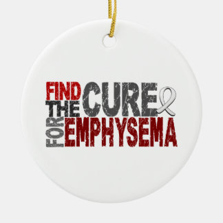 Find The Cure For Emphysema Christmas Ornaments