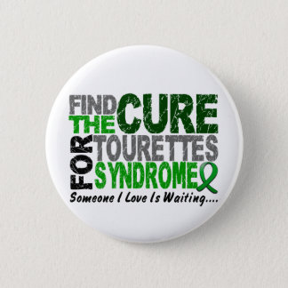 Find The Cure Tourette's Syndrome 6 Cm Round Badge