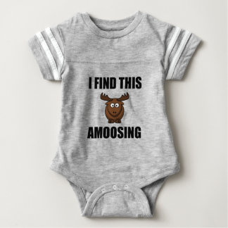 Find This Amoosing Moose Baby Bodysuit