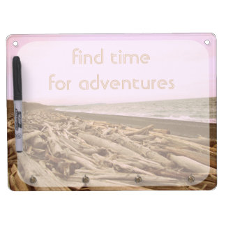 Find Time For Adventures Dry Erase Boards