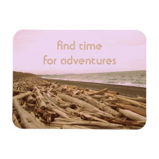 Find Time For Adventures Flexible Magnet