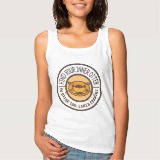 Find Your Inner Otter Women's Tank Top