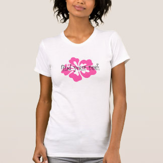 Find Your Reef Ladies Hibiscus Tshirts