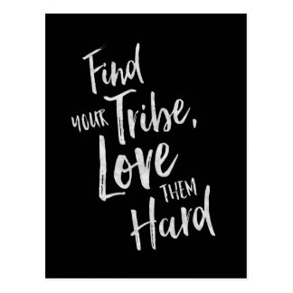 Find Your Tribe - Inspirational Card