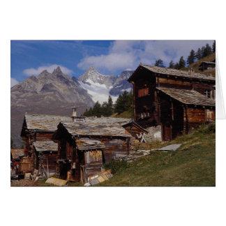 Findeln Zermatt Switzerland Card