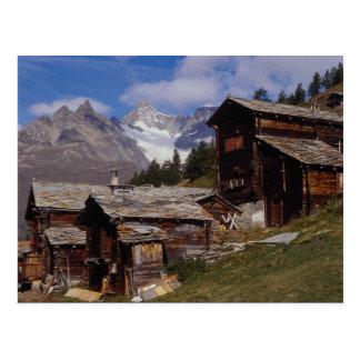 Findeln, Zermatt, Switzerland Postcard