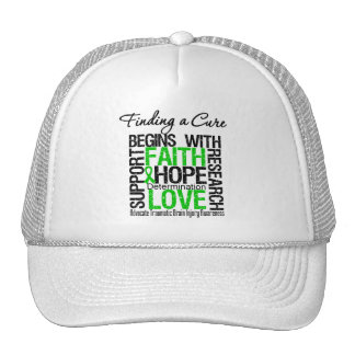 Finding a Cure Begins With Hope TBI Trucker Hats