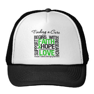 Finding a Cure Begins With Hope TBI Mesh Hats