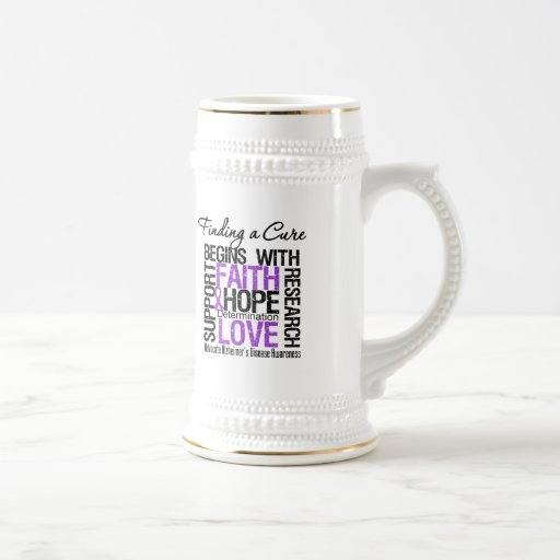 Finding a Cure For Alzheimers Disease Mug