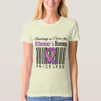 Finding a Cure For Alzheimers Disease PRICELESS T-Shirt