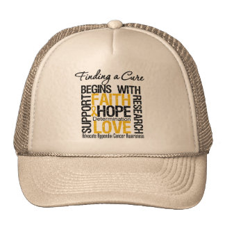 Finding a Cure For Appendix Cancer Mesh Hats