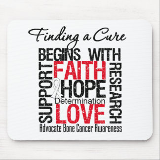 Finding a Cure For Bone Cancer Mouse Mat