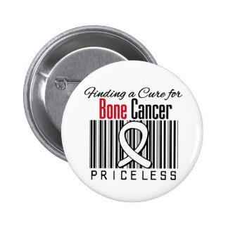Finding a Cure For Bone Cancer PRICELESS 6 Cm Round Badge