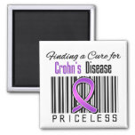 Finding a Cure For Crohns Disease PRICELESS Magnet