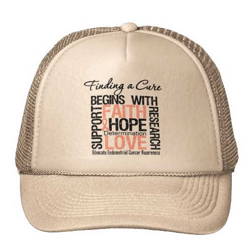 Finding a Cure For Endometrial Cancer Mesh Hats