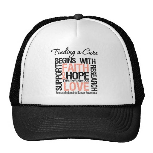Finding a Cure For Endometrial Cancer Hats