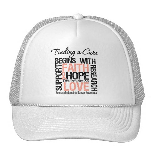 Finding a Cure For Endometrial Cancer Trucker Hat