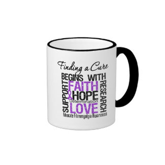 Finding a Cure For Fibromyalgia Ringer Mug