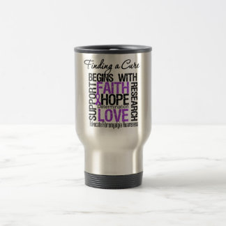Finding a Cure For Fibromyalgia Stainless Steel Travel Mug