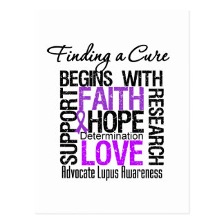 Finding a Cure For Lupus Post Card