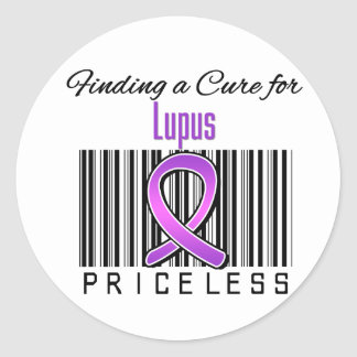 Finding a Cure For Lupus PRICELESS Sticker