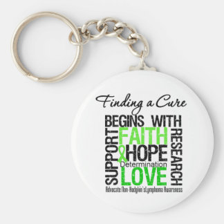 Finding a Cure For Non Hodgkins Lymphoma Key Chains