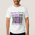 Finding a Cure For Pancreatic Cancer PRICELESS Tshirt