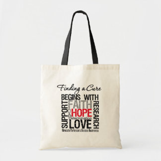 Finding a Cure For Parkinsons Disease Canvas Bags