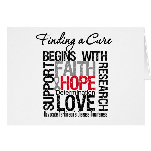 Finding a Cure For Parkinsons Disease Greeting Cards