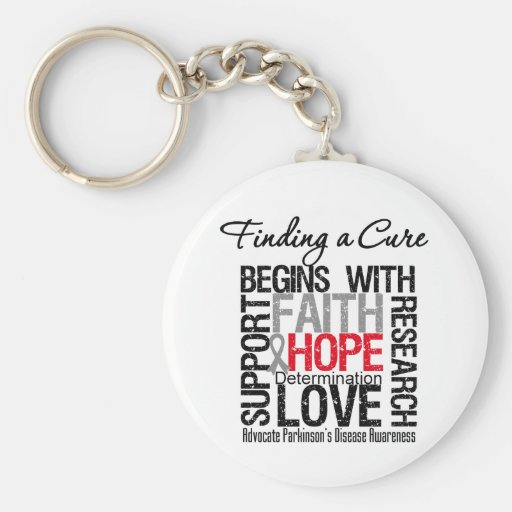 Finding a Cure For Parkinsons Disease Key Chains