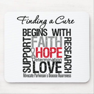 Finding a Cure For Parkinsons Disease Mouse Mat