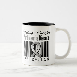 Finding a Cure For Parkinsons Disease PRICELESS Mugs