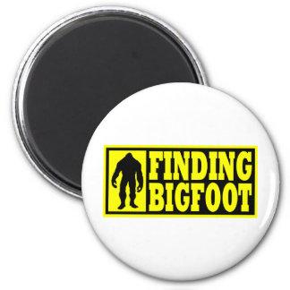 Finding Bigfoot Logo Gear 6 Cm Round Magnet