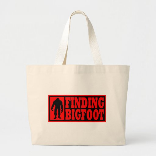 Finding Bigfoot Logo Gear Tote Bag