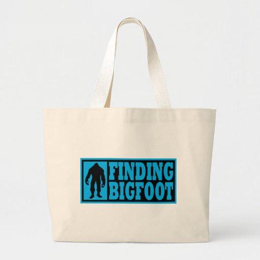 Finding Bigfoot Logo Gear Bags