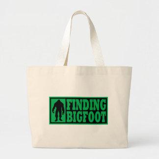 Finding Bigfoot Logo Gear Jumbo Tote Bag