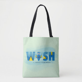 Finding Dory| I Wish I Could Remember Tote Bag