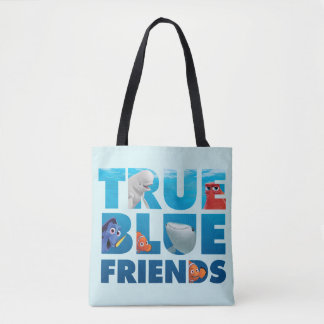 Finding Dory   True Blue Friends Tote Bag