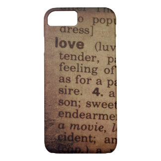 Finding Meaning - Love iPhone 7 Case