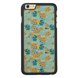 Finding Nemo   Dory and Nemo Pattern Carved® Maple iPhone 6 Plus Case