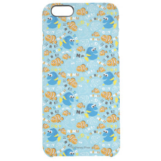 Finding Nemo   Dory and Nemo Pattern Clear iPhone 6 Plus Case