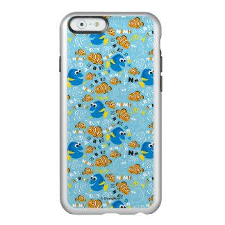 Finding Nemo   Dory and Nemo Pattern Incipio Feather® Shine iPhone 6 Case